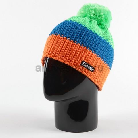 Картинка шапка Eisbar star neon pompon tirol 955