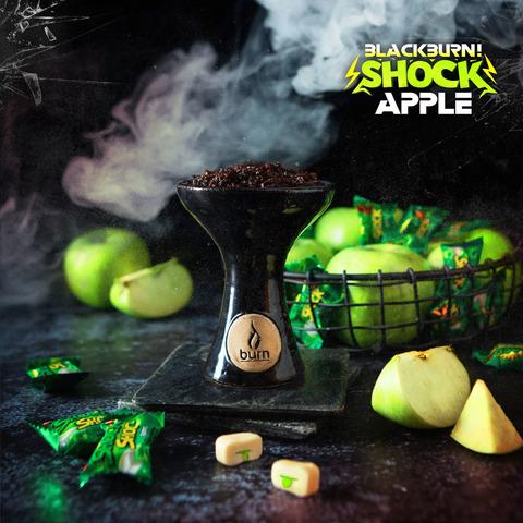 Табак Burn Black Apple Shok 200 г
