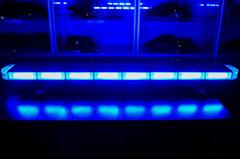 Спец.сигнал ДПС E905 (на крышу 1030мм),(blue+blue) шт