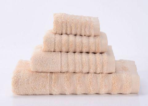 Wellness-2 бежевое махровое  полотенце Valtery