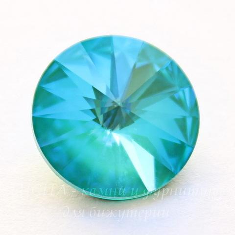 1122 Rivoli Ювелирные стразы Сваровски Crystal Laguna DeLite (12 мм)
