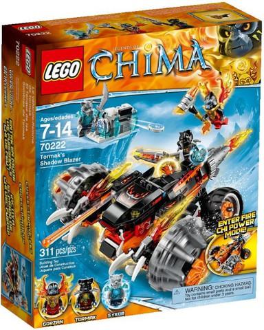 LEGO Chima: Огненный Вездеход Тормака 70222 — Tormak's Shadow Blazer — Лего Чима