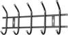 Вешалка настенная на  5 крючков ВНТ5 (цвет черный), Ника, г. Ижевск