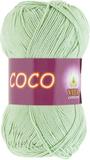 Пряжа Vita Coco 4314 светло-салатный