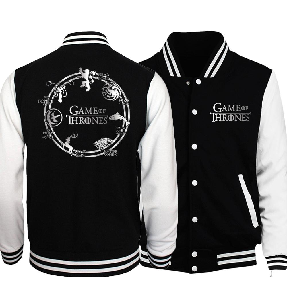 Куртка бейсбольная Игра престолов — Baseball Jacket Game of Thrones