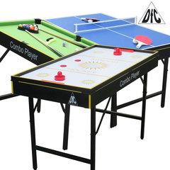 Игровой стол трансформер DFC SMILE 3 в 1