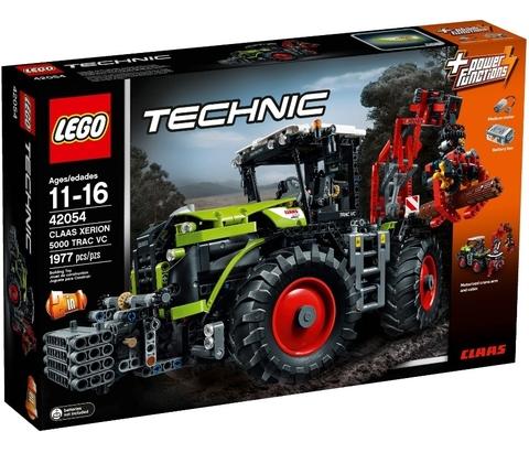 LEGO Technic: Claas Xerion 5000 Trac VC 42054 — Claas Xerion 5000 Trac VC — Лего Техник