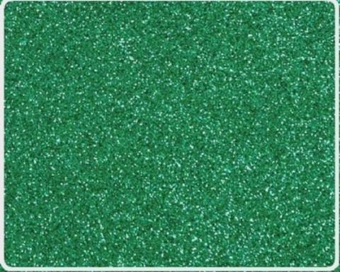 Глитерный фоамиран 2мм 40*60см. цвет Темно зеленый