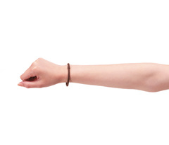 Браслеты PHITEN RAKUWA BRACELET S LEATHER TOUCH 2 pcs (черный, коричневый)
