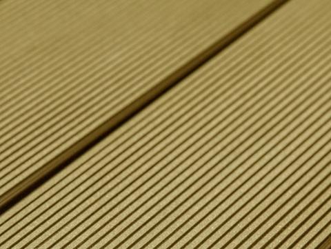 Террасная доска SW Abies (R) - радиальный распил. Цвет тик.