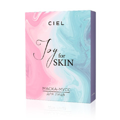 Увлажняющая маска-мусс для лица Joy for skin - упаковка