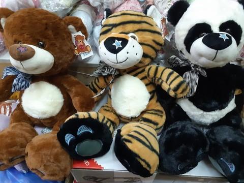 Набор мягких игрушек