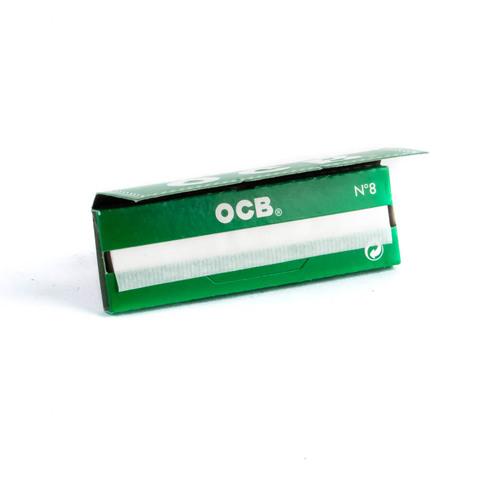 Бумага для самокруток OCB номер 8 зеленая 50 шт
