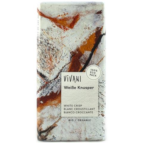 VIVANI Белый хрустящий шоколад. Vivani, 100 г