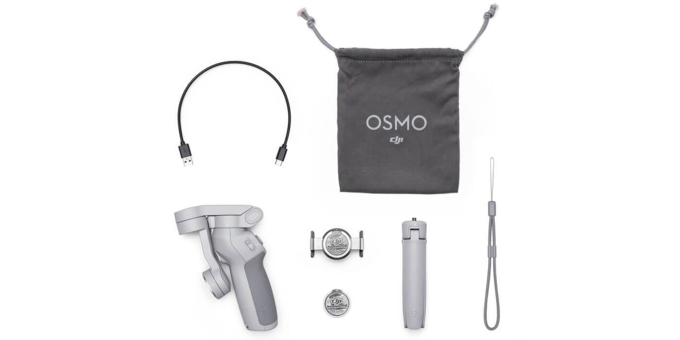 Стабилизатор DJI Osmo Mobile OM4 комплектация