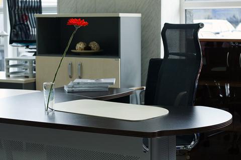 Коврик для стола - бювар , кожа натуральная,  Модель 17.