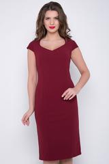 <p>Соблазнительное платье с эффектным вырезом горловины сделает Вас неотразимой и каждый раз напомнит всем вокруг, на что способна сила женской красоты и сексуальности.&nbsp;(Длины: 44-100 см; 46-100см; 48-101 см; 50-102см)&nbsp;</p>