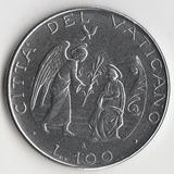 K9627, 1987, Ватикан, 100 лир Иоанн Павел II aUNC