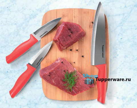 Ножи гурман для овощей и большой разделочный и универсальный