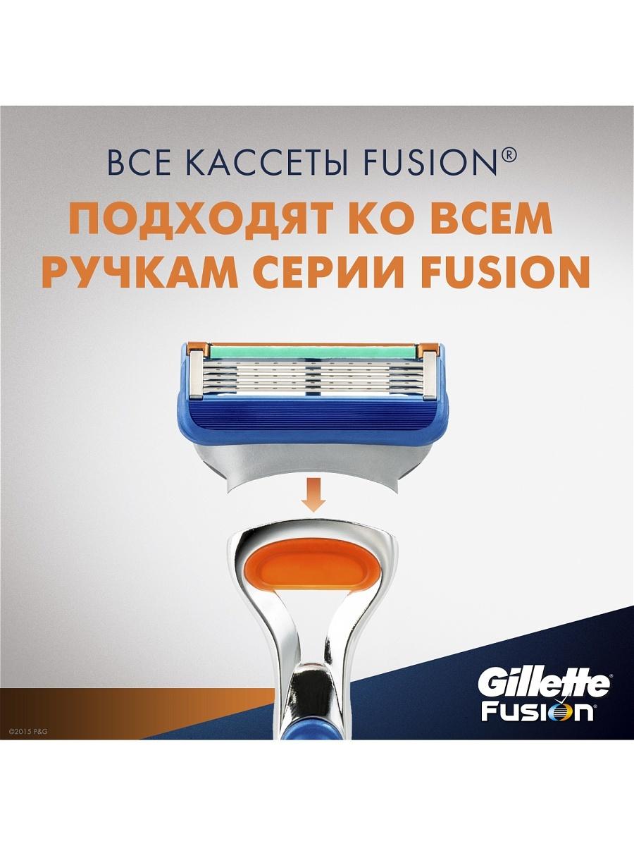 Кассеты Gillette Fusion 2 шт