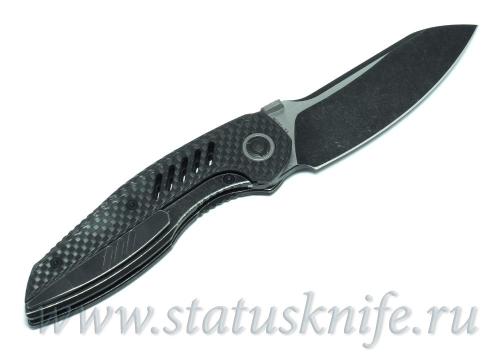 Нож CKF Ossom (Малышев, Ti, CF) - фотография