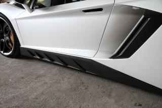 Карбоновые накладки на пороги Novitec Style для Lamborghini Aventador