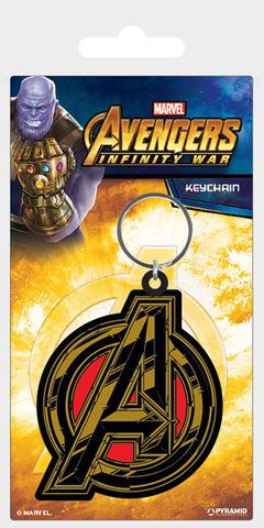 Брелок силиконовый «Мстители: Война бесконечности (символ Мстителей)»