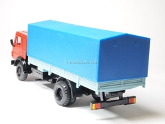 KAMAZ-5325 with awning red-blue Elecon 1:43