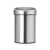 Мусорный бак Touch Bin (3 л), артикул 378645, производитель - Brabantia