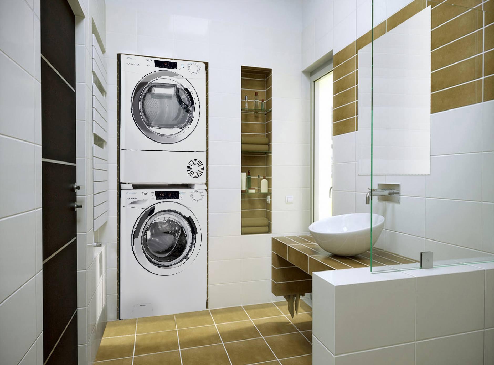 Соединительный элемент Candy WSK1101 для полноразмерных стиральных и сушильных машин от 47 до 62 см фото