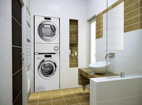 Соединительный элемент Candy WSK1101 для полноразмерных стиральных и сушильных машин от 47 до 62 см
