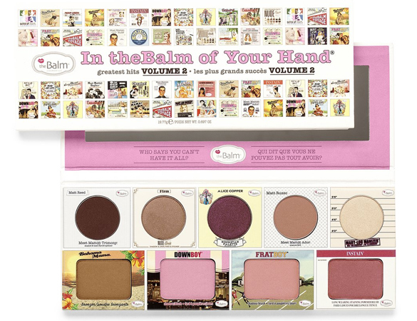 Палетка The Balm In the balm of your hand vol2