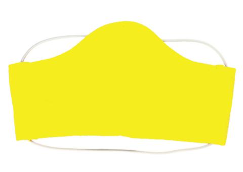 Маска тканевая (M, Желтая)