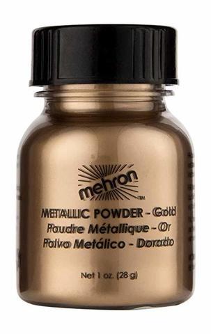 MEHRON Металлическая пудра-порошок Metallic Powder, Gold (Золото), 28 г