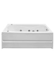 Акриловая ванна BAS Стайл 160х70х54 с гидромассажем