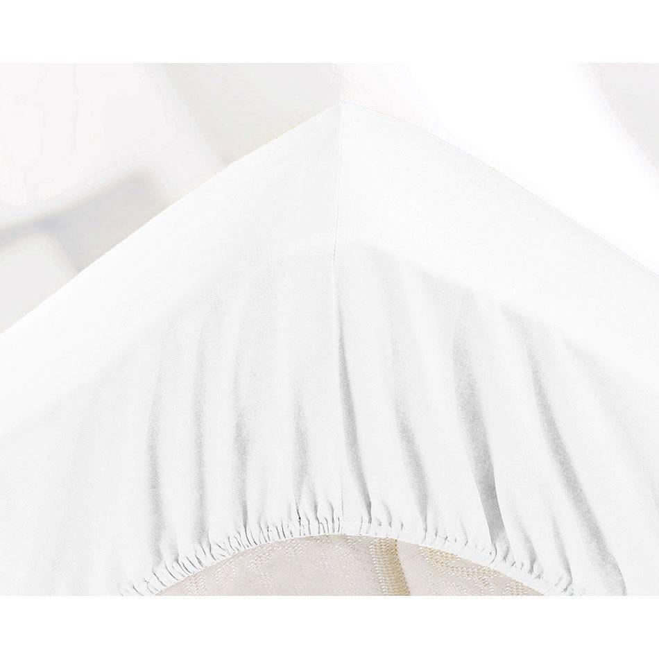 МИКРОФИБРА - Односпальная простыня на резинке 100х200