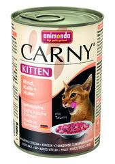 Консервы Animonda Carny Kitten с говядиной, телятиной и курицей для котят