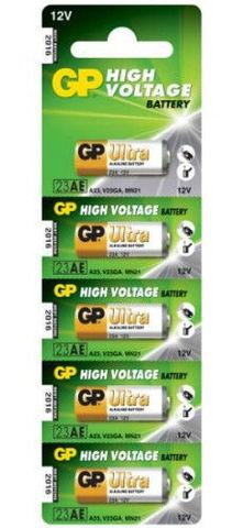 Батарейки GP 23A Alkaline A23, VA23GA, MN21, 12V