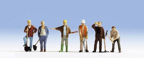 Рабочие - 6 чел, (TT)