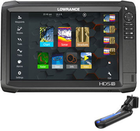 Lowrance HDS-12 Carbon с датчиком Totalscan