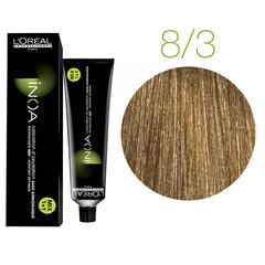 L'Oreal Professionnel INOA Fundamental 8.3 (Светлый блондин золотистый) - Краска для седых волос