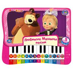 УМка Книжка-пышка с пианино