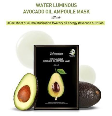 Питательная маска с авокадо JM Solution Water Luminous Avocado Oil Ampoule Mask