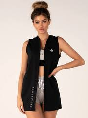 Женский жилет с капюшоном Ryderwear BSX Black