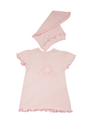 Комплект 1146 Мелонс бледно-розовый