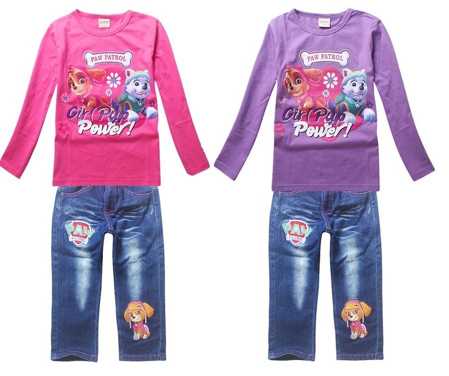 Скай и Эверест комплект детский футболка и джинсы
