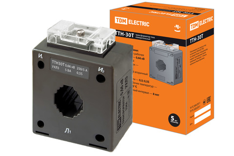 ТТН  30T/250/5- 5VA/0,5S-Р TDM