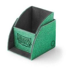 Dragon Shield - Зелёно-чёрная коробочка Nest (100 карт)