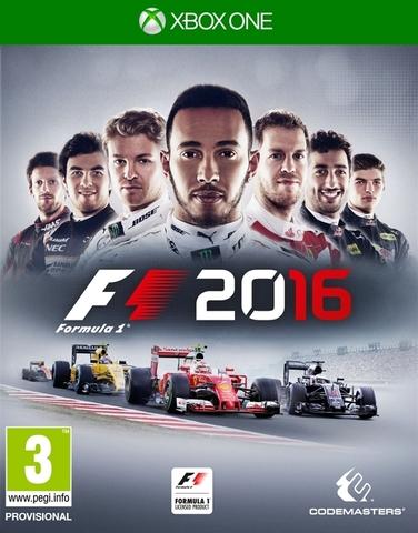 Xbox One F1 2016 (русская версия)