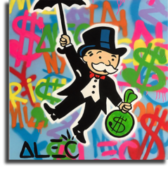 "Постер ""Monopoly Alec Art"""